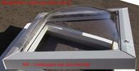 Lichtkuppel 1000x1000 klar durchsichtig doppelsch.mit Isolierglasscheibe 0,8 W/m²K (9349000063)