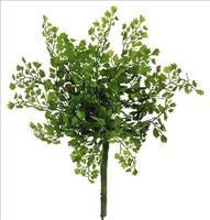 12er Pack Adiantumbusch  28cm, grün ,Kunstblume / Kunstpflanze (9359108244800)