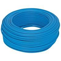 100 Meter Bund Aderleitung, 1,5² H07V - K, blau,  (99111803)