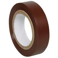 10er Pack Isolierband, PVC, 10 m, braun (99239883)