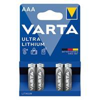 4er Pack Batterie, Lithium, PROFESSIONAL, Blisterware (99706605)