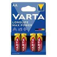 4er Pack Batterie, MAX TECH, Alkaline, Mignon, AA, 1,5V (99706866)