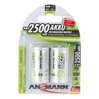 2er Pack Akku, BASIC, NiMh, 1,2V/2500 mAh, Baby (99706873)