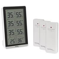 Funk-Thermometer und Luft-Feuchtigkeitsanzeige WS 7060 (9019786031)