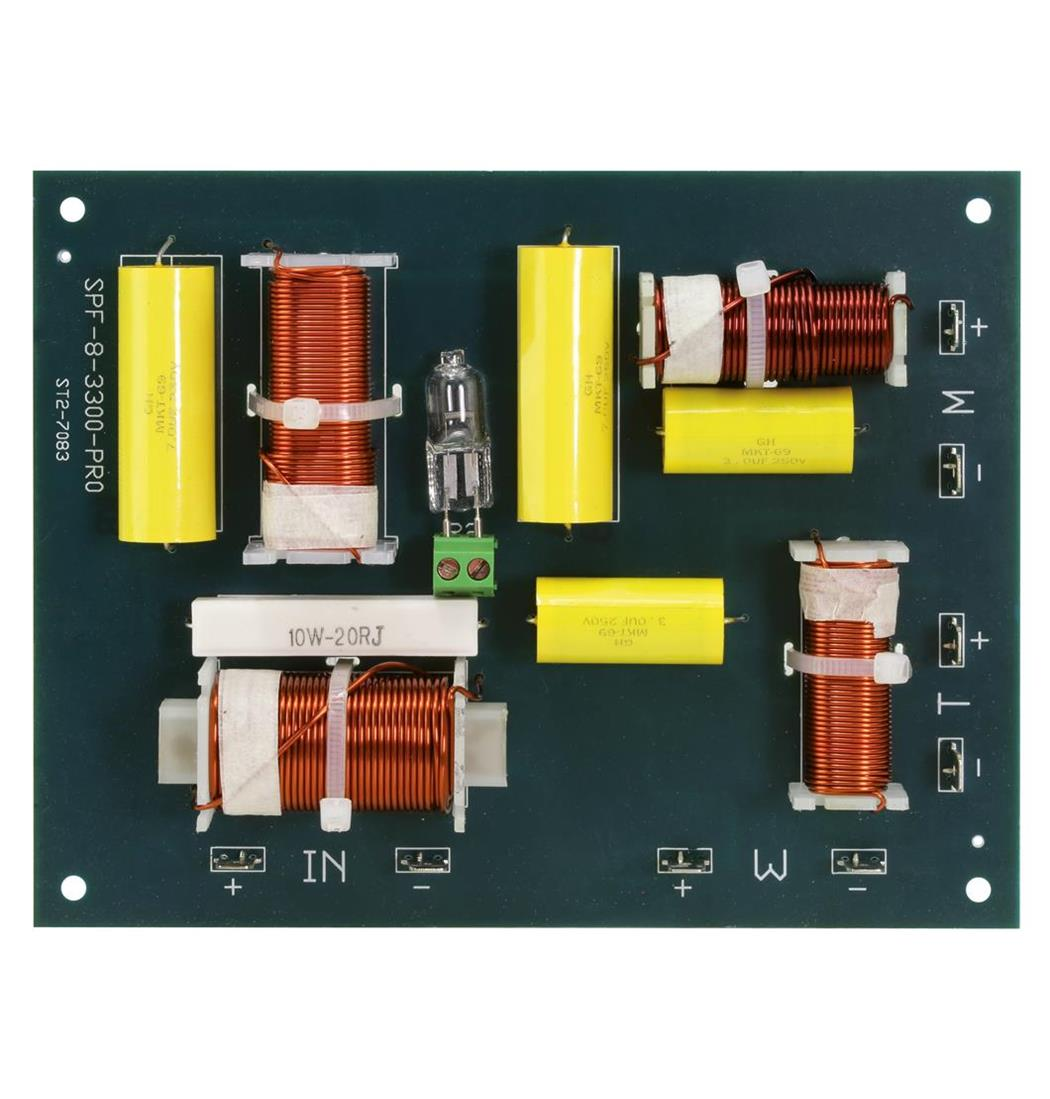 Weiche Pro 3 Wege 400W, Frequenzweichen, Frequenzweiche (9029201089)