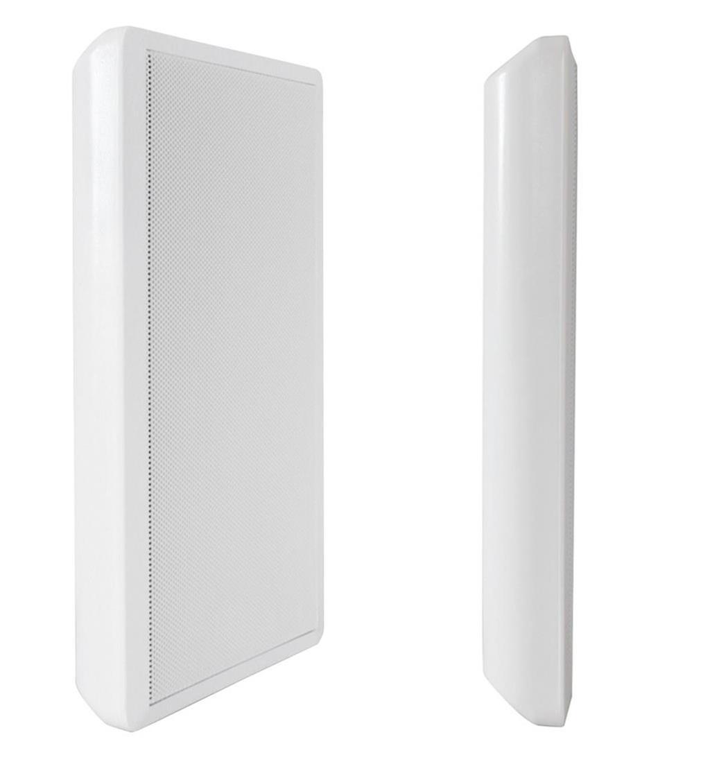 Dynavox WS-502 Flatpanelspeaker weiss Paar, Lautsprecher, Boxen (9029202814)