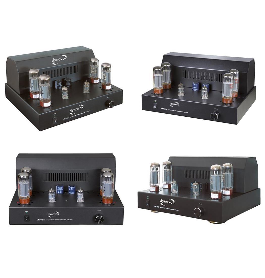 Dynavox Röhrenvollverstärker VR-70E II schwarz, Plattenspieler, Verstärker (9029203041)
