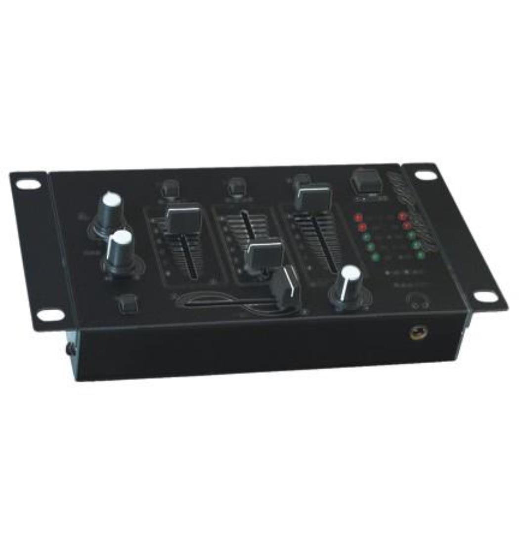 Mischpult schwarz DJ-211, Mischer, Mixer (9029203275)