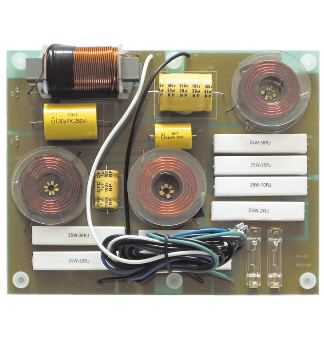 Weiche Profi 3-Wege 700 Watt, Frequenzweichen, Frequenzweiche (9029203633)