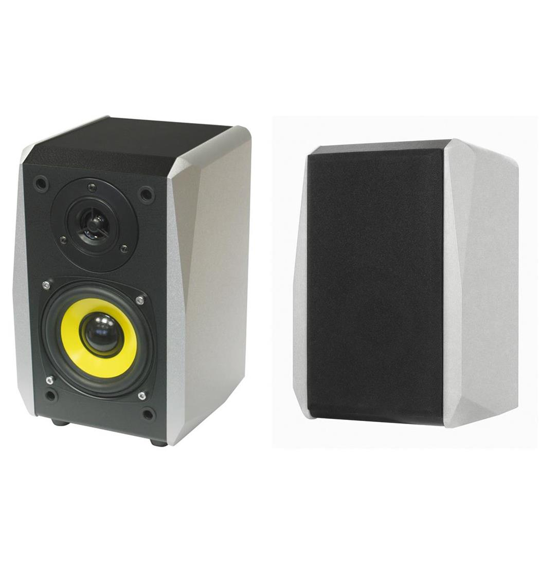 Dynavox TG-1000B Hifi Regal Box silber Paar, Lautsprecher, Boxen (9029203954)