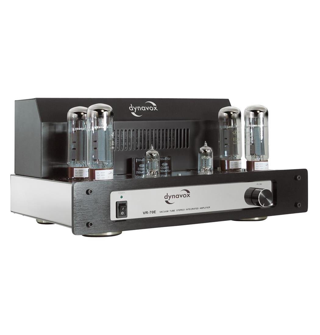 Dynavox Röhrenvollverstärker VR-70E II Chrom, Verstärker (9029203974)