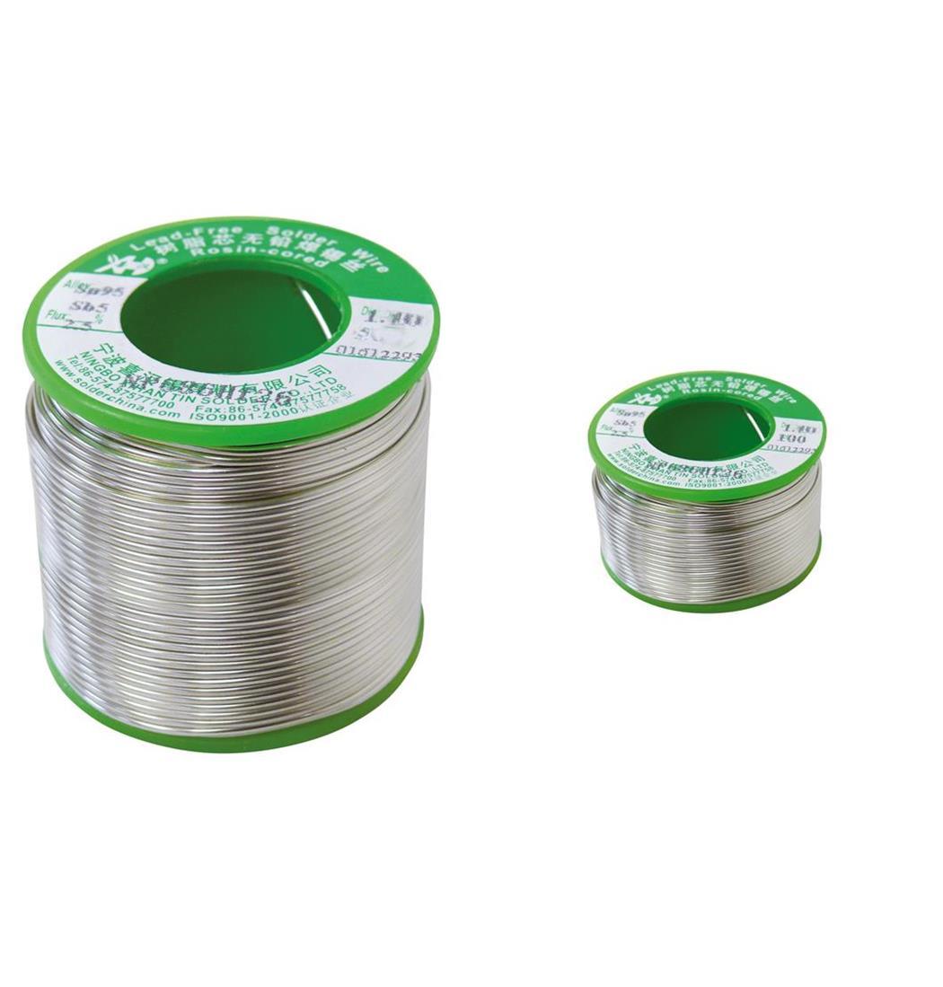 Lötzinn bleifrei Durchm. 1,0 mm 250 g, Lötdraht, Röhrenlöt, Zinn (9029204004)