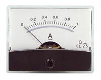Drehspul-Einbauinstrument m.Spiegelskala 0-1A DC, Messgerät, Messskala (9029204238)