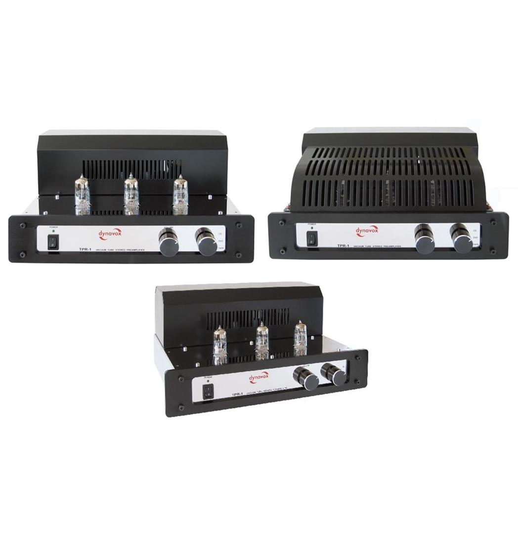 Dynavox Röhrenvorverstärker TPR-1 chrom, Plattenspieler, Verstärker (9029204244)