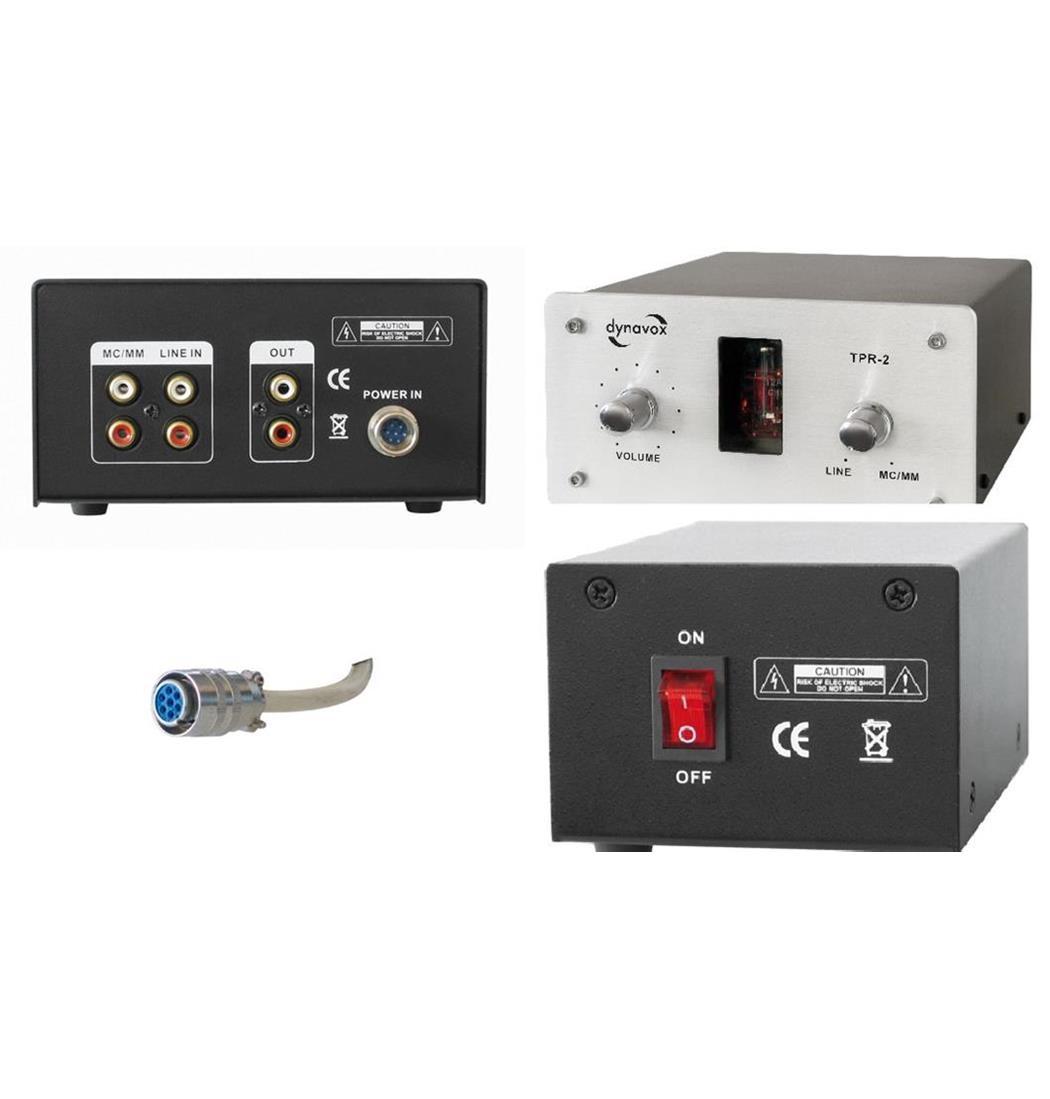 Dynavox Sound Converter TPR-2 silber, Klangaufbereiter, Verstärker (9029204497)