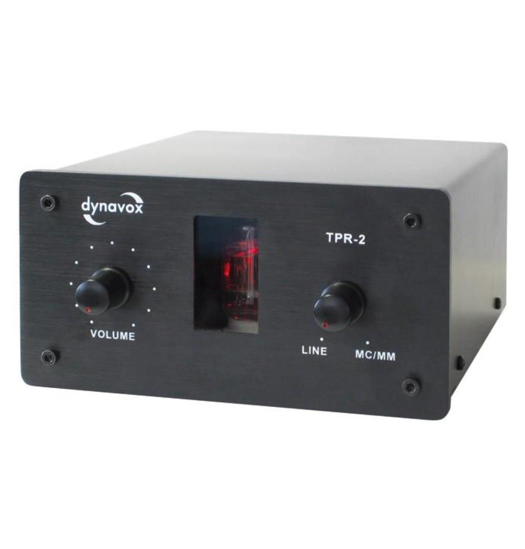 Dynavox Sound Converter TPR-2 schwarz, Klangaufbereiter, Verstärker (9029204498)