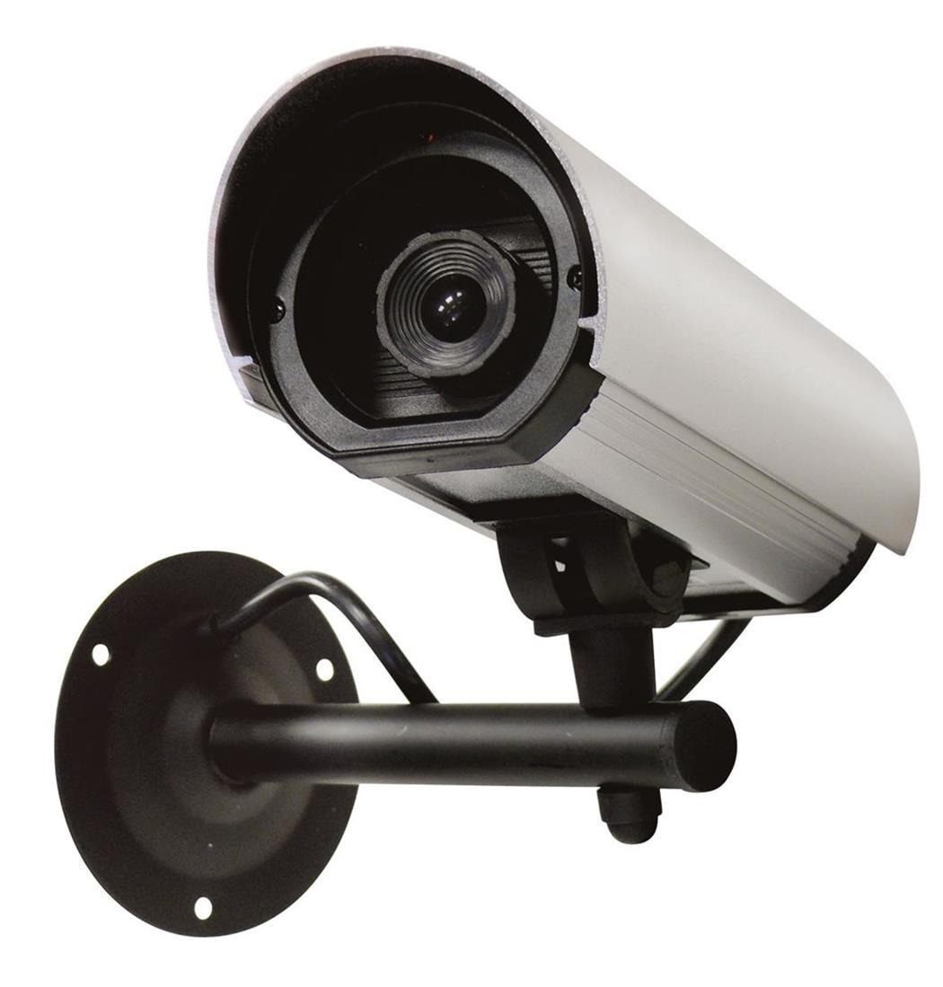Dummy Camera Alugehäuse mit LED, Überwachungskamera, Attrappe, Alarmanlage, Videoüberwachung (9029204828)