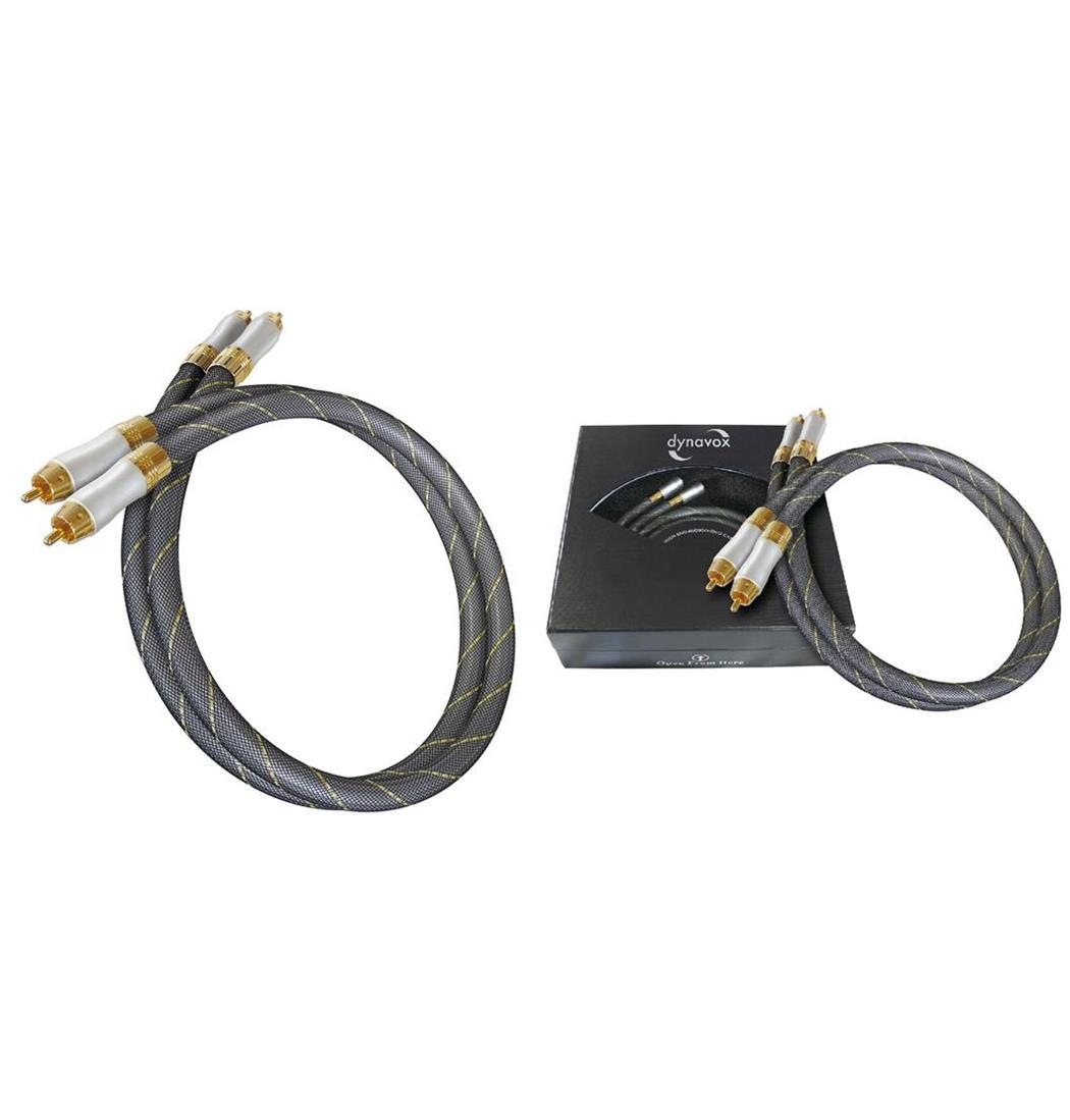 Dynavox Highend-Stereo-Cinchkabel Set 2 x 3 m, Stereokabel, Audiokabel, Kabel (9029204973)