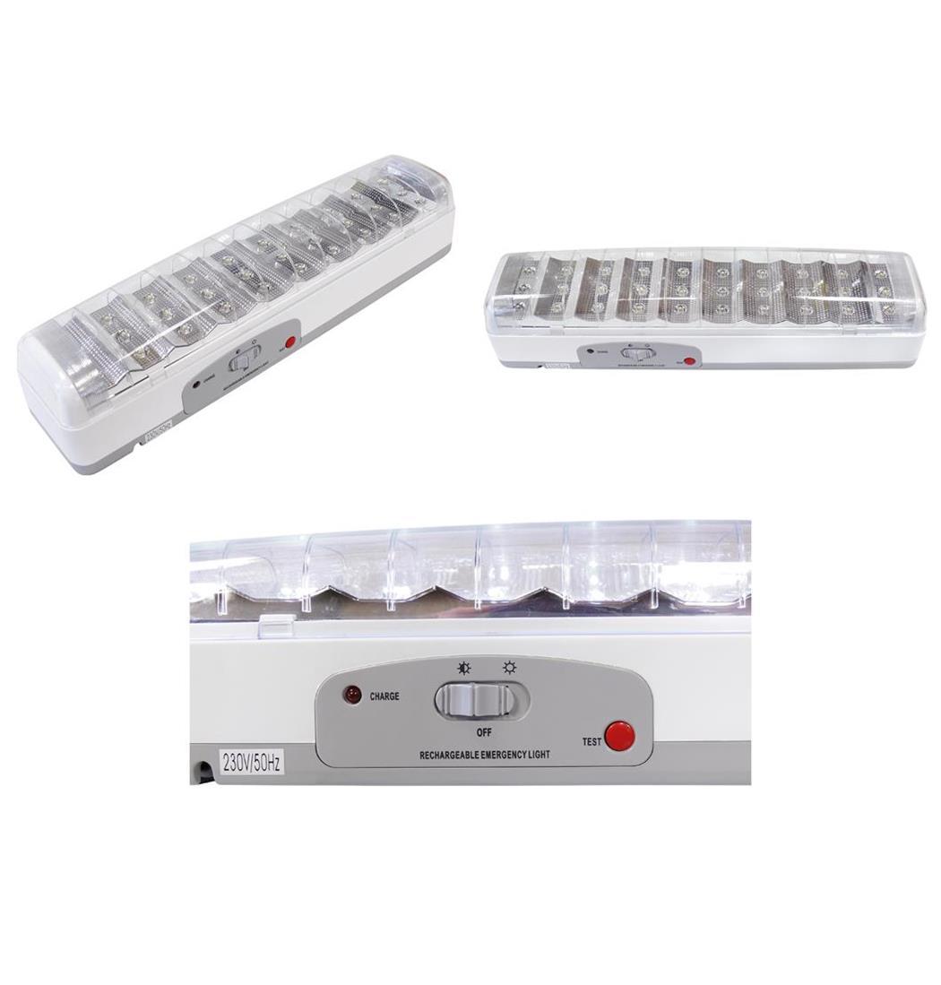 Notleuchte 30 LEDS mit Akku, Notbeleuchtung, Leuchte, Lampe, Handlampe (9029205089)