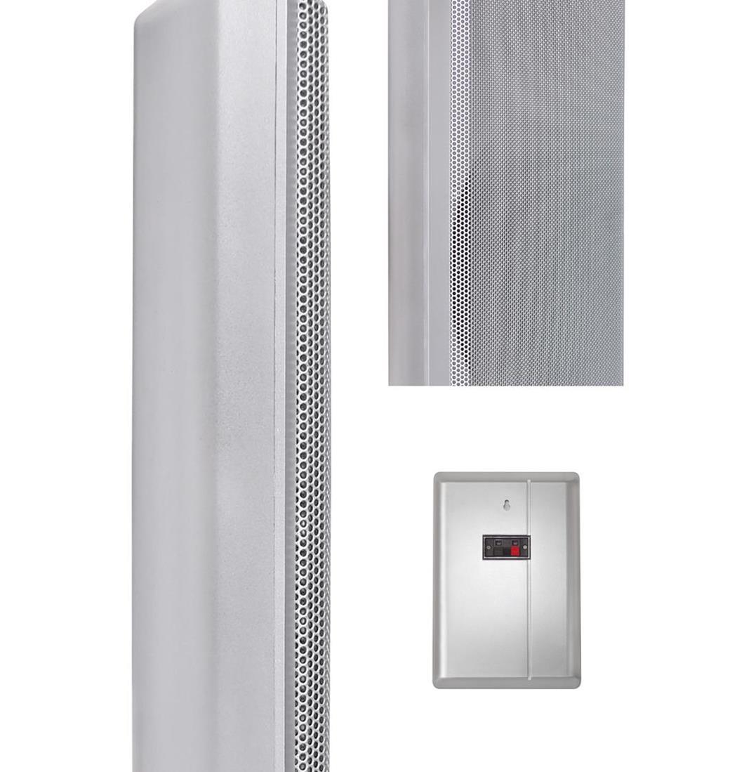 Dynavox WS-502 Flatpanelspeaker silber Paar, Lautsprecher, Boxen (9029206015)