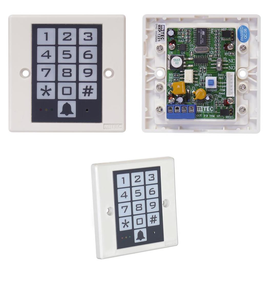 Keypad für Schlösser und Alarmanlagen, Tastenfeld, Tastatur, Digitaltastatur, Sicherheitssystem (9029206044)