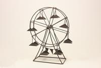 Miniatur Modell, Riesenrad, braun Höhe 26cm  (444444635096507)