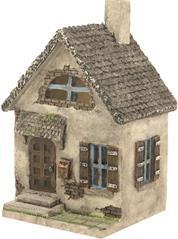 Miniatur Modell, Landhaus ca. 9,5 x 8cm Höhe 15cm (444444635093018)