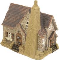 Miniatur Modell, Landhaus - Alte Kate ca. 18,5 x 12cm Höhe 19cm  (444444635093049)