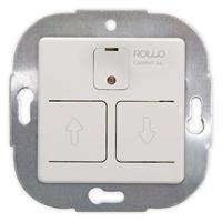 Elektronischer Jalousieschalter 24 h-Automatik, programmierbar, Einbaugerät reinweiß (9109100119)