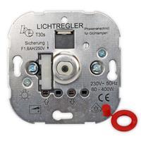 UP-Phasenanschnitt-Dimmer T30s, für Glühlampen, Dreh-Aus-Schalter 400W (9109100482)