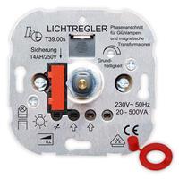 UP-Phasenanschnitt-Dimmer T39s, für NV-Halogenlampen, Druck-Wechsel-Schalter 500W (9109100484)