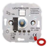 UP-Phasenabschnitt-Dimmer T46s, für NV-Halogenlampen, Druck-Wechsel-Schalter 315W (9109100485)