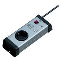 1-fach Steckdosenleiste Schalt-Automatik, Sicherheitsleiste 1-60 Min. einstellbar (9109100976)