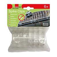 36er Pack SWISSINNO Spike-Clips für Dachrinnen zur Anbringung der Taubenabwehr-Spikes (9109104940)