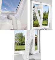 Fensterabdichtung, Warmluft-Stopper für mobile Klimageräte und Klimaanlagen 4m (9109106579)