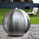 Design Edelstahlbrunnen Arctic 40 Komplett-Set Wasserbrunnen (913924239)