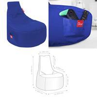 Sitzsack, Sitzkissen, Bean Bag, Alpha blau 80x67x80cm (925933180012)