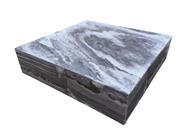 1 Set Marmor - Wasserspiel Sevilla, grau-weiß, poliert, Kpl.-Set, 65 x 65 x 15 cm (9279098100931)