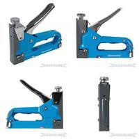 Handtacker, 3-in-1, 6 Ð 14 mm, Nagler, Klammergerät, Metalltacker, Tacker (9299101332)
