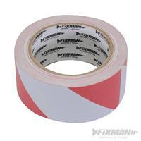 Absperrband, 50 mm x 33 m, rot-weiß, Warnband, Flatterband, Trassenband (9299188781)