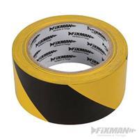 Absperrband, 50 mm x 33 m, gelb-schwarz, Warnband, Flatterband, Trassenband (9299190195)
