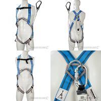 Auffanggurt mit Bandfalldämpfer, Fallschutz, Klettergurt, Sicherheitsgurt, Arbeitsschutz (9299255234)