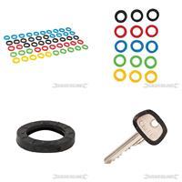 Bunte Kunststoff-Schlüsselkappen, 50er-Pckg., (9299431620)