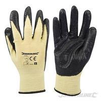 Aramide-Faser-Nitril-Handschuhe, EinheitsGröße, Arbeit, Schutz, Montagehandschuhe, Garten (9299598485)