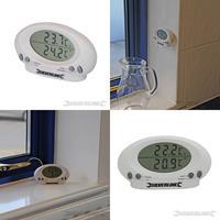 Innen-/Außenthermometer, -50 ¡C bis +70 ¡C, Thermometer, Hygrometer, Wetterstation, Wettermesser (9299675133)