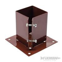Pfostenträger, Aufschraubhülse, 100x100 mm, Zaunträger, Pfostenanker (9299721033)