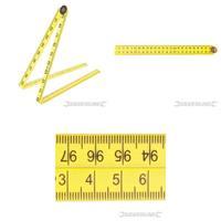 Faltbares Lineal, 1000 mm, Zoll, Meßstab, Werkzeug (9299733241)