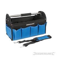 Strapazierfähige Werkzeugtasche mit verstärktem Boden, 400x200x255 mm, Bag, Werkzeugkoffer, Werkzeugkiste (9299748091)