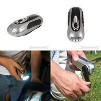 Dynamo- Taschenlampe, 3 LEDs, Dynamoleuchte, Lampe, Handlampe, Leuchte (9299839905)