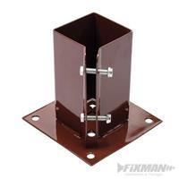 Pfostenträger, Aufschraubhülse, 75x75 mm, Zaunträger, Pfostenanker (9299995311)